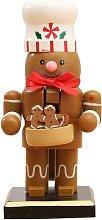 Nutcracker Christmas Decorations, Wooden