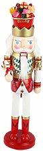 Nutcrackers 1pcs 38cm Christmas Ornaments Dolls
