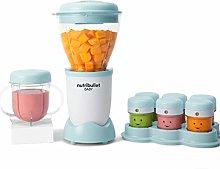 NutriBullet Baby Food Blender with date markers