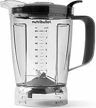 NutriBullet Blender 64 oz Pitcher, Clear/black