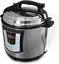 NutriChef High Power Stainless Steel Electric