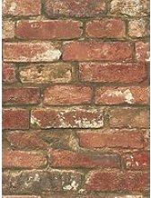 Nuwallpaper West End Brick Stick On Wallpaper