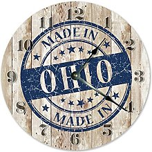 NVBFH43545 Rustic Made In Ohio Wood Boards Wooden