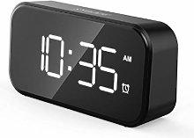 nvbmcxern 12/24H Digital Alarm Clock Large LED