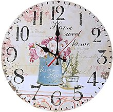 nvbmcxern Antique Wall Clocks Decoration Clock