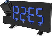 nvbmcxern Curved Screen Smart Alarm Clock