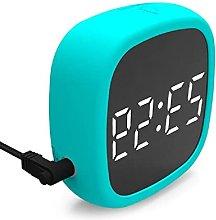 nvbmcxern LED Digital Alarm Clock Snooze 4