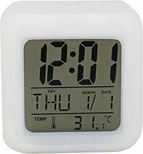 nvbmcxern LED Night Light Alarm Clock Wake Up Easy