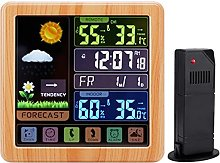 nvbmcxern Wireless Touch Screen Color Alarm Clock