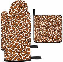 nxnx Brown Giraffe Pattern And Texture Background