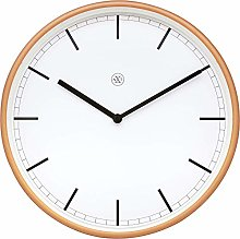 nXt Wall Clock-Diameter 30 cm-Plastic-White/Matt