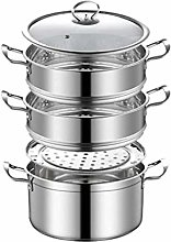 NXYJD Small Steamer Household Stainless Steel