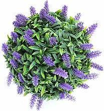 NYDG Homemade Purple Lavender Hanging Topiary Ball