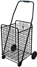 NYDZDM 90L Large-capacity Shopping Trolley, 4