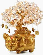 NYKK Art Decorative Home Decor Citrine Money Tree
