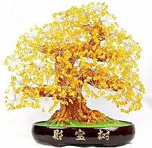 NYKK Art Decorative Home Decor Crystal Tree