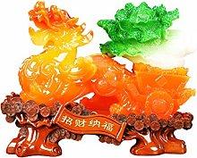 NYKK Art Decorative Pi Xiu Decoration Home TV Wine