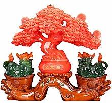 NYKK Art Decorative Pi Xiu Decorations Fortune