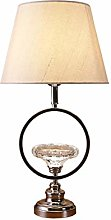 NYKK Bedside table lamp Personality Glass Table