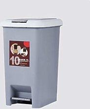 NYKK Bin/Wastebasket Foot Bin with Lid Is Suitable