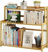 NYKK Bookcases Simple Modern Bookshelf Three-story