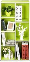 NYKK Bookshelf Bookshelf Seven-fold Bookcase