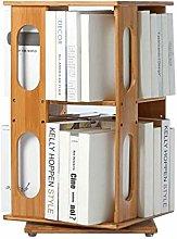 NYKK Bookshelf Desktop Bookshelf 360 Degree