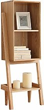 NYKK Bookshelf European Simple Solid Wood