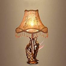 NYKK Crystal salt lamp Bedside Nightstand Table