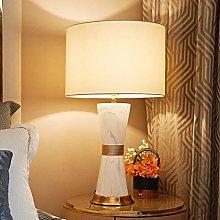NYKK Crystal salt lamp Light Modern Ceramic Table