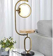 NYKK Crystal salt lamp Multifunction Table Lamp