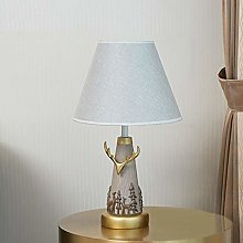 NYKK Crystal salt lamp Simple Table Lamp