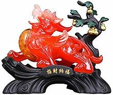 NYKK Home Décor Products Feng Shui Statue Pi Xiu