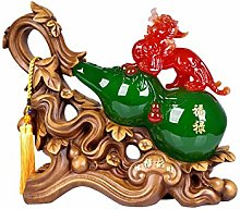 NYKK Home Décor Products Lucky Pi Xiu Gourd