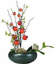 NYKK Home Garden Artificial Fruit Bonsai used for