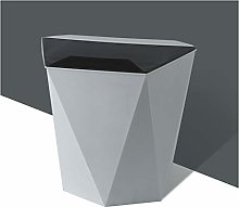 NYKK Household Trash Can with Lid Hanging Trash