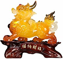 NYKK Ornament Figurine Lucky PiXiu Decoration