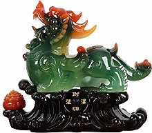 NYKK Ornament Figurine Pi Xiu Decorations Feng