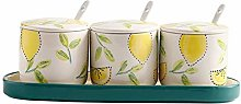 NYKK Seasoning Containers Set of 4 Porcelain