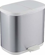 NYKK Stainless Steel Sorting Trash Can Square
