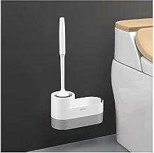 NYKK Toilet Brush and Holder Toilet Bowl Brush 360