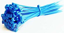 Nylon cable ties, Blue 100pcs Cable Ties