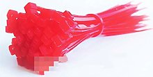 Nylon cable ties, Cable Ties Red 500pcs