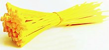 Nylon cable ties, Cable Ties Yellow 500pcs