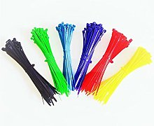 Nylon cable ties, Yellow 100pcs Cable Ties