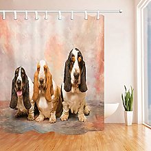 Nyngei Animal Shower Curtain By Childlike Funny