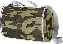 NYZXH Camouflage Camo Waterproof Outdoor Picnic