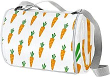 NYZXH Carrot Waterproof Outdoor Picnic Blanket