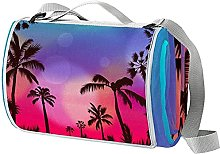 NYZXH Palm Summer Waterproof Outdoor Picnic