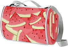 NYZXH Watermelon Waterproof Outdoor Picnic Blanket